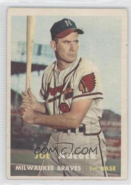 1957 Topps #117 - Joe Adcock