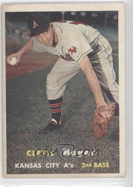 1957 Topps #121 - Cletis Boyer