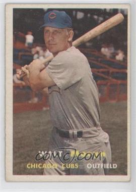 1957 Topps #16 - Walt Moryn