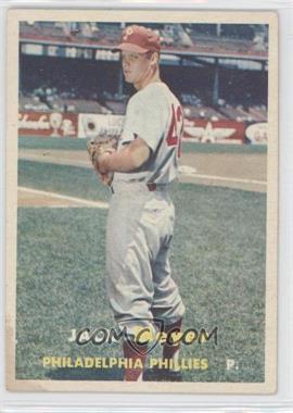 1957 Topps #162 - Jack Meyer