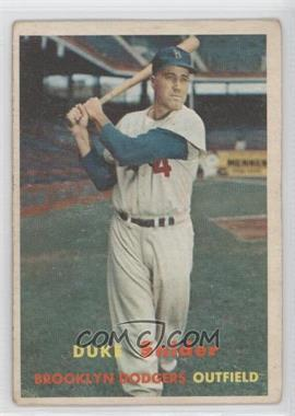 1957 Topps #170 - Duke Snider [Good to VG‑EX]