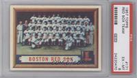 Boston Red Sox Team [PSA6]
