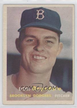 1957 Topps #18 - Don Drysdale