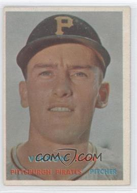1957 Topps #199 - Vern Law