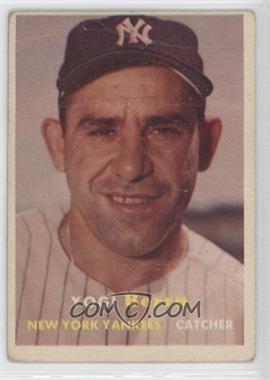 1957 Topps #2 - Yogi Berra