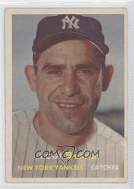 1957 Topps #2 - Yogi Berra [GoodtoVG‑EX]