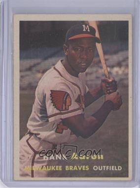 1957 Topps #20 - Hank Aaron [GoodtoVG‑EX]