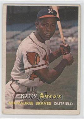 1957 Topps #20 - Hank Aaron [Good to VG‑EX]
