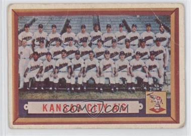 1957 Topps #204 - Kansas City A's Team