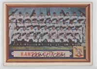 Kansas City A's Team [GoodtoVG‑EX]