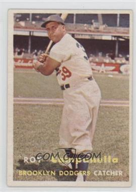 1957 Topps #210 - Roy Campanella