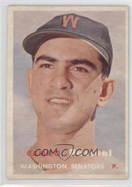 1957 Topps #211 - Camilo Pascual