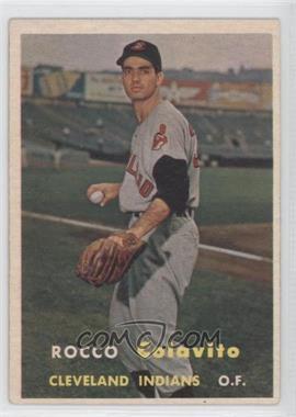 1957 Topps #212 - Rocco Colavito [GoodtoVG‑EX]