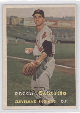 1957 Topps #212 - Rocky Colavito