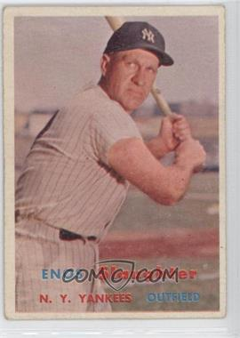 1957 Topps #215 - Enos Slaughter