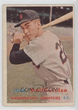 1957 Topps #246 - Jose Valdivielso [Good to VG‑EX]