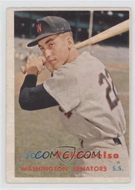 1957 Topps #246 - Jose Valdivielso [GoodtoVG‑EX]