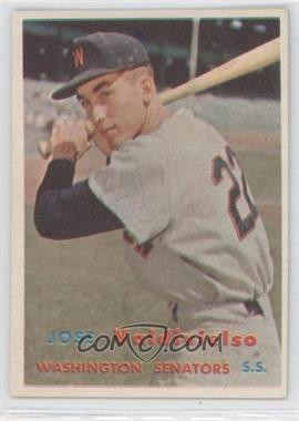 1957 Topps #246 - Jose Valdivielso