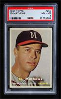 Eddie Mathews [PSA 8]