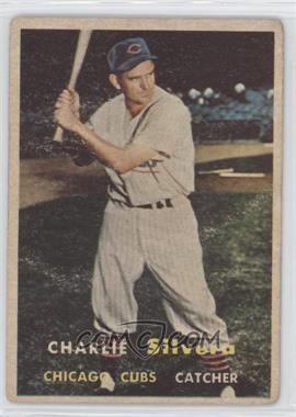 1957 Topps #255 - Charlie Silvera