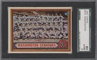 Washington Senators Team [SGC 80]