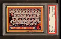 Cleveland Indians Team [PSA8]