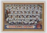 Cleveland Indians Team [Good to VG‑EX]