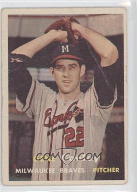 1957 Topps #28 - Gene Conley