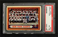 New York Giants Team [PSA 6]