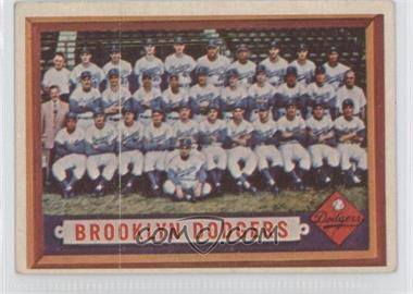 1957 Topps #324 - Brooklyn Dodgers Team [Good to VG‑EX]