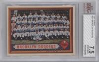 Brooklyn Dodgers Team [BVG7.5]