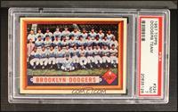 Brooklyn Dodgers Team [PSA7]