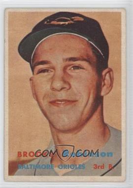1957 Topps #328 - Brooks Robinson