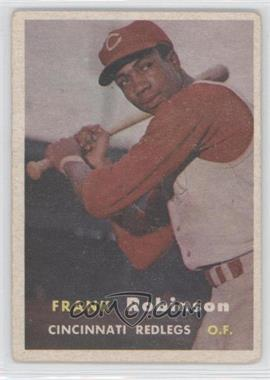 1957 Topps #35 - Frank Robinson [Good to VG‑EX]