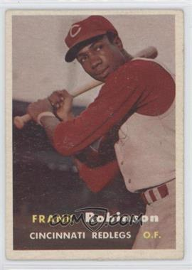 1957 Topps #35 - Frank Robinson