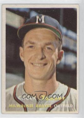 1957 Topps #392 - Chuck Tanner