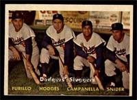 Dodgers' Sluggers (Furillo, Hodges, Campanella, Snider) [VGEX]