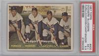 Dodgers' Sluggers (Furillo, Hodges, Campanella, Snider) [PSA5.5]