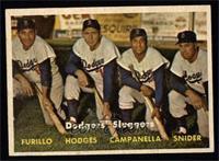 Dodgers' Sluggers (Furillo, Hodges, Campanella, Snider) [EXMT]