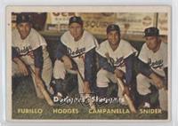 Dodgers' Sluggers (Furillo, Hodges, Campanella, Snider)