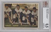 Dodgers' Sluggers (Furillo, Hodges, Campanella, Snider) [BVG6.5]