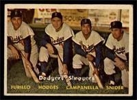 Dodgers' Sluggers (Furillo, Hodges, Campanella, Snider) [VG]