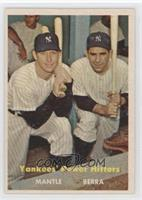 Yankees' Power Hitters (Mickey Mantle, Yogi Berra)