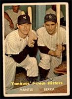 Yankees' Power Hitters (Mickey Mantle, Yogi Berra) [GOOD]