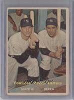 Yankees' Power Hitters (Mickey Mantle, Yogi Berra) [Poor to Fair]
