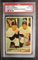 Yankees' Power Hitters (Mickey Mantle, Yogi Berra) [PSA4]