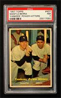 Yankees' Power Hitters (Mickey Mantle, Yogi Berra) [PSA 7]