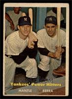 Yankees' Power Hitters (Mickey Mantle, Yogi Berra) [GOOD]