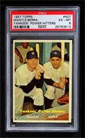 Yankees' Power Hitters (Mickey Mantle, Yogi Berra) [PSA 6]