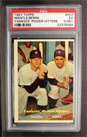 Yankees' Power Hitters (Mickey Mantle, Yogi Berra) [PSA 3]